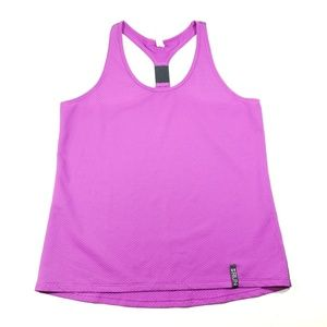 Under Armour Womens pink racerback size Large top